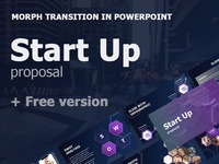 Start Up proposal + Free version graphics startup morph animated box maps slide icons clean infographics illustration design business best template presentation keynote powerpoint