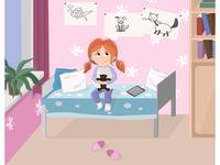 Illustration for Children`s book