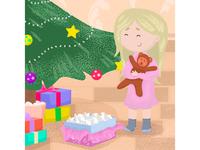 Sweet Christmas illustration