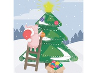 New Year`s Piggy