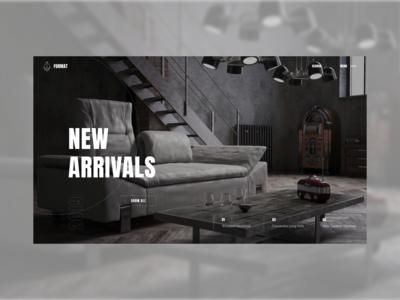 Furniture catalog site