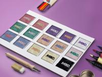 Exploring Different Colour Palettes for Logo