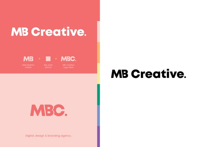 MB Creative Logo Design: Digital, Design & Branding Agency