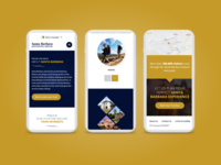 Mobile Responsive Design for Travel Booking Website