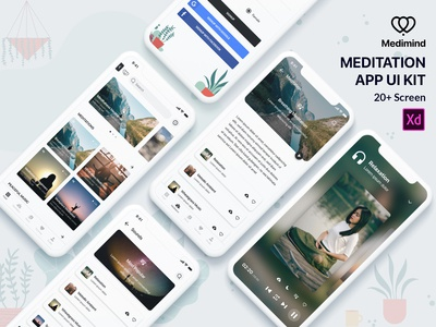 Meditation App UI Kit
