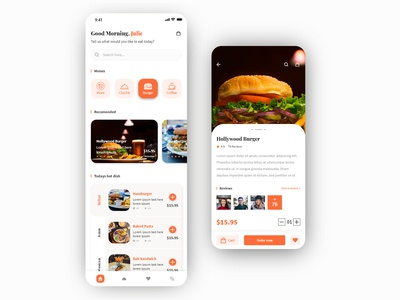 Food Delivery App UI Kits