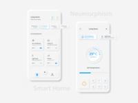 Smart Home - Neumorphism Soft UI Design