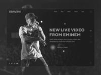 Hello Dribbble! | Eminem Concept