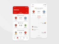 Arsenal FC App concept