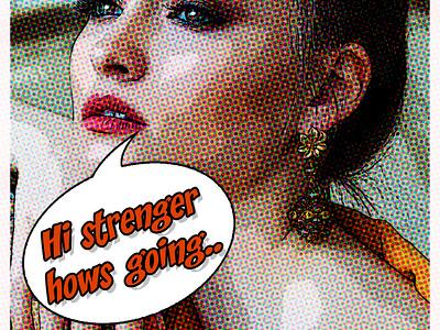 COMIC CON ART WORK comic art comic adobe photoshop