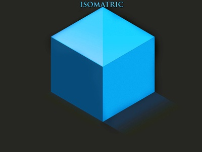 isomatric Cubes vector adobe photoshop illustration design