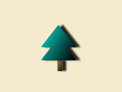 christmas Tree graphics package web flat gradient graphics design graphics fashion photoshop branding adobe photoshop illustration icon logo graphic design artworks art vector illustration adobe photoshop design