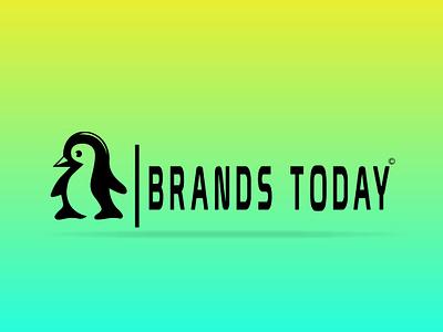 Brands Today animation graphics package flat gradient company apps graphics webdesign computer eblem combination mark artworks branding adobe photoshop typography logo graphic design vector illustration design