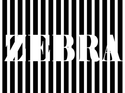 zebra graphics photoshop minimal animation fashion web adobe photoshop illustration adobe photoshop icon graphics package graphics design gradient artworks graphic design logo branding typography vector illustration design