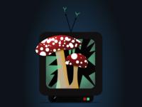 Overgrown TV