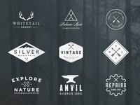 Vintage Logos — Volume 1