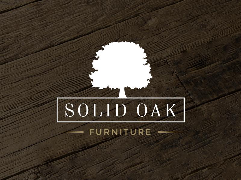 Rustic Oak Tree Logo By Adrian Pelletier On Dribbble