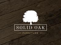 Rustic Oak Tree Logo