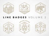 Line Badges —Volume 2