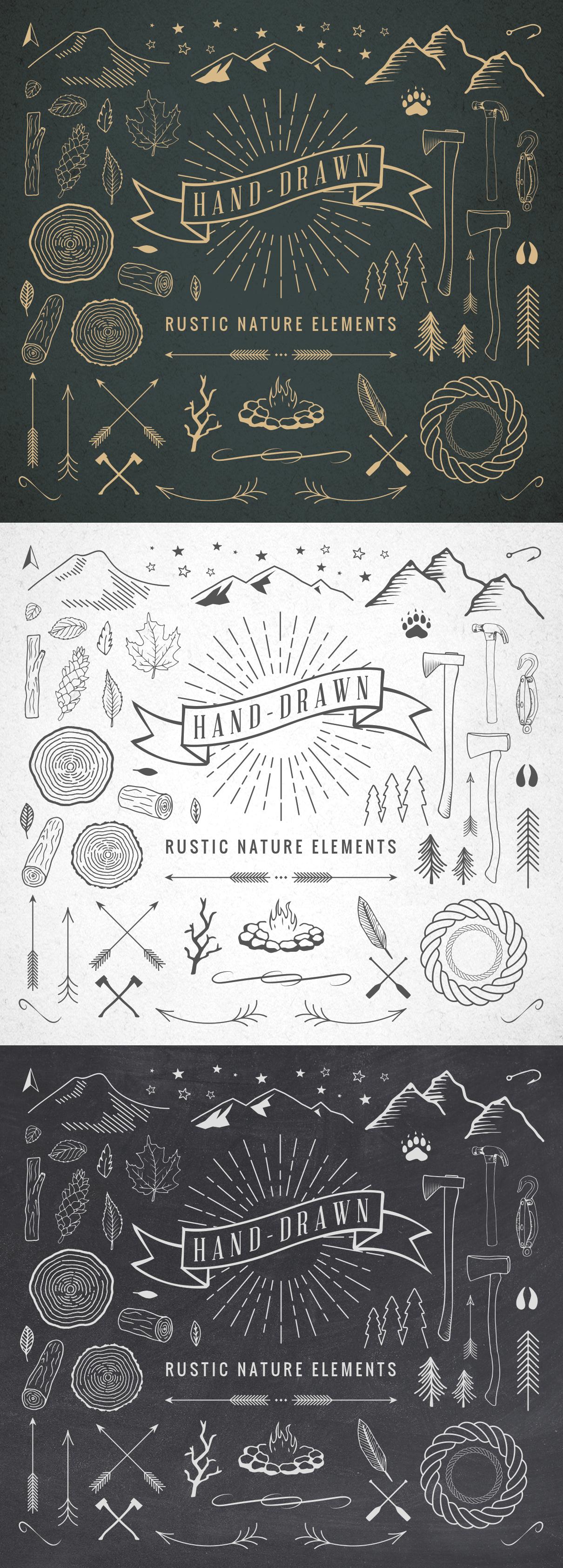 Hand Drawn Rustic Nature