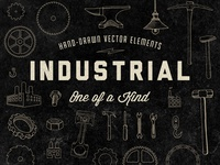 Hand Drawn Industrial Elements