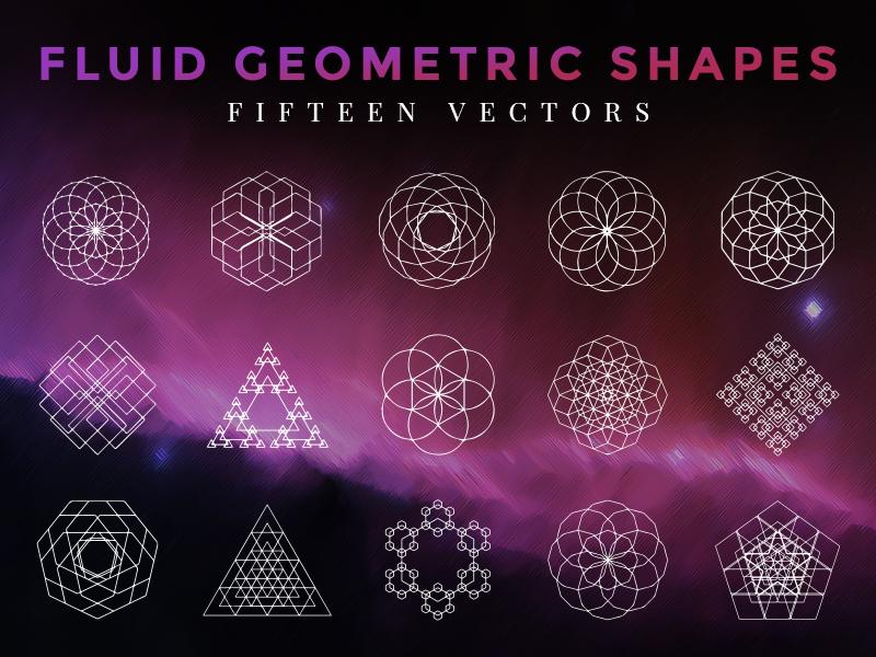 Fluid Geometric Shapes by Adrian Pelletier on Dribbble