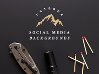 Outdoor Social Media Backgrounds