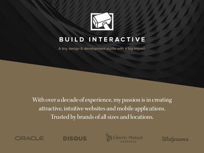 """New """"Build Interactive"""" Website"""
