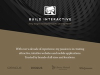 "New ""Build Interactive"" Website"