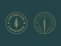 Tree Badge Logo Preview #1