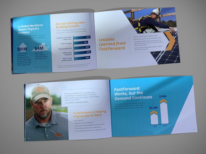 FastForward Brochure infographic design