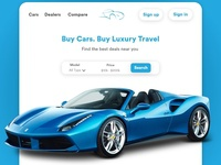 Cars Web Design