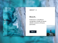Beach Web Design