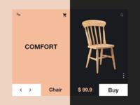 Chair Web Design