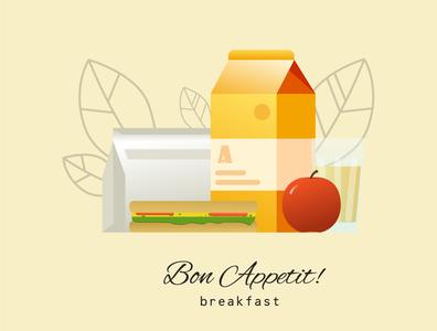 BON APPETIT ! breakfast