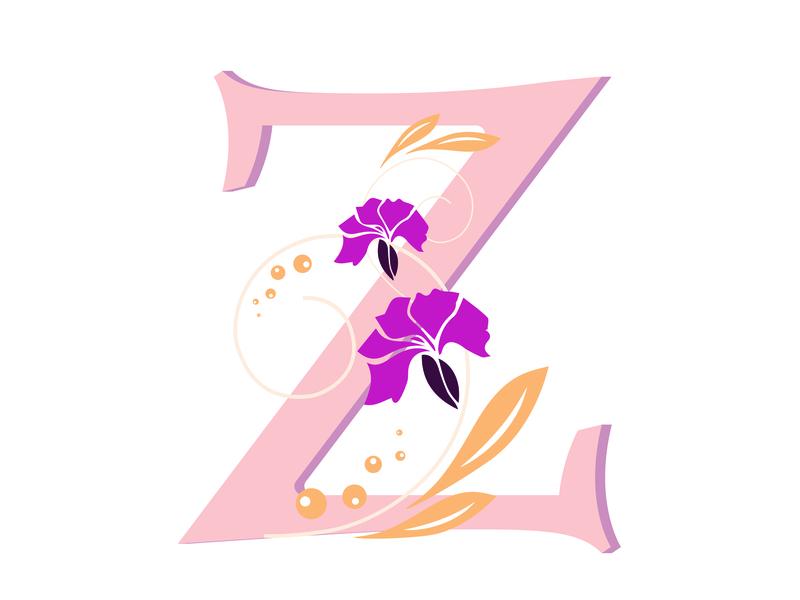 36 Days of Type    Alphabet 'Z' by Priyanka Goyal - PRIYANKA
