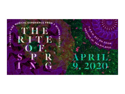 Rite of Spring   Instagram Post zoom event photography photoshop marketing campaign graphic design event branding event advertising instagram post social media typography