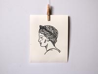 Roman Sculpture Print