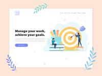 Goals Lab Task Manager - Landing Page
