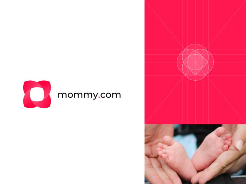 Logotype Mommy.com | Blog for mom's