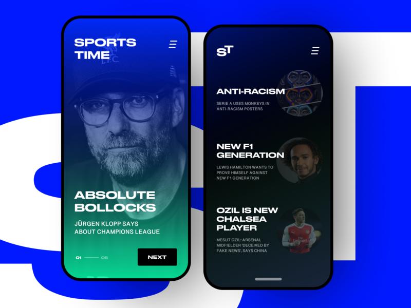 Sports Time | sport news blog concept