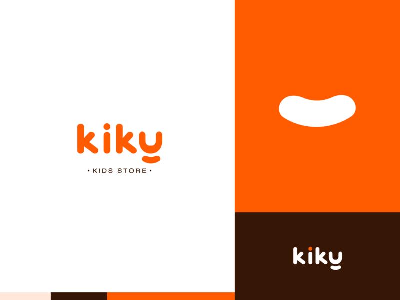 Kiky | Kids store logo concept