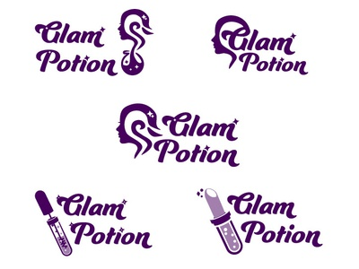Glam Potion - Make Up logo