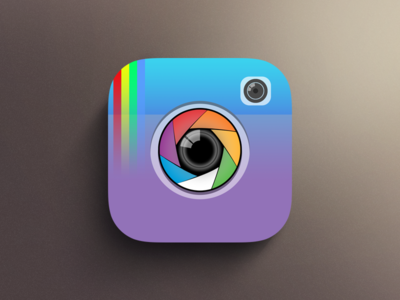 Instagram Flat Design @instagram