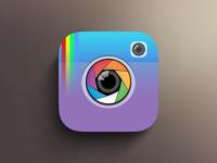 Instagram Flat Design @instagram