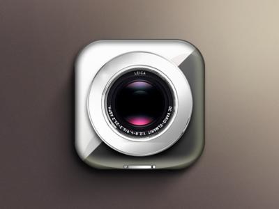 Nux Overlay Chrome cydia ifile iphone ui flat design apple smooth icon iconset saurik camera