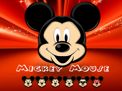 Mickey Mouse mouse emoticons emoticon apple iphone ironman icons icon photoshop skill mickey emoji