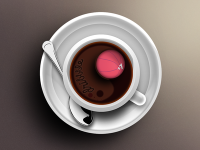 Dribbble Invite icon appstore iphone photoshop 3d ios giveaway twitter ui invite apple application