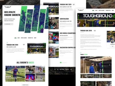 OCR Athlete's autobiographical blog site