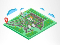 Ilustração - Mapa de Evento